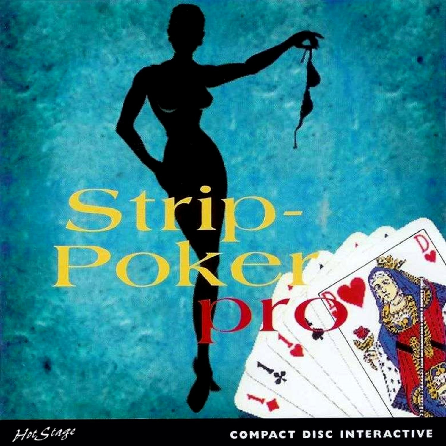 Strip Poker Pro Front - The world of CD-i