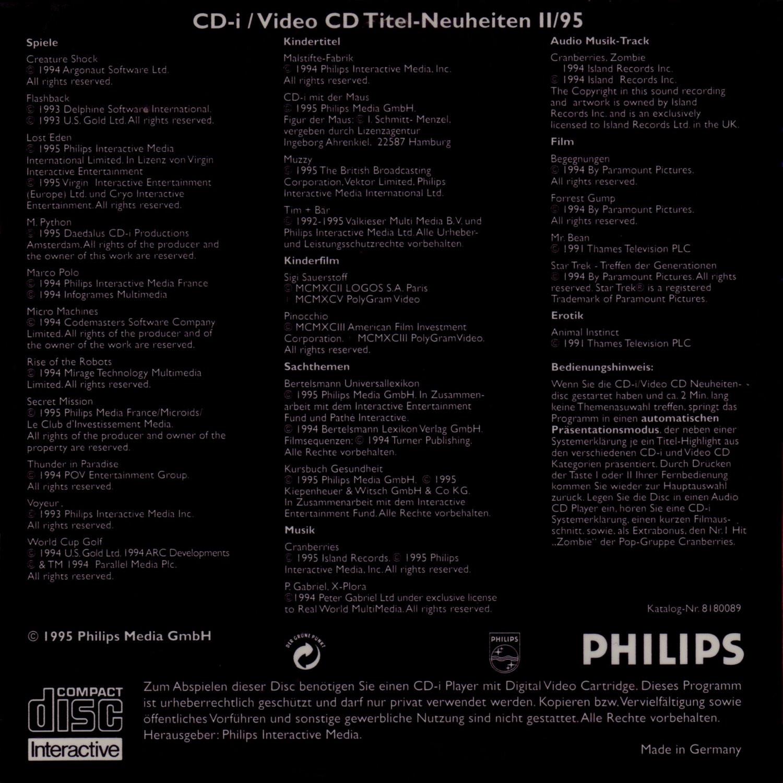 Video World Neuheiten